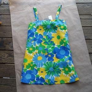 NWT J Crew Morning Floral Shift Dress sz 6 Petite